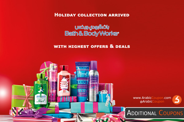 The holiday season collection arrives from a wide range of Bath and Body Works 2020 products - with 100% active discounts and offers