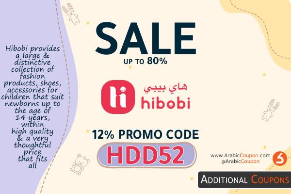 Hibobi November SALE up to 80% & 12% promo code