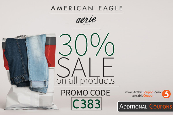American Eagle BLACK FRIDAY SALE for 30% with additional 15% promo code - Black Friday 2020