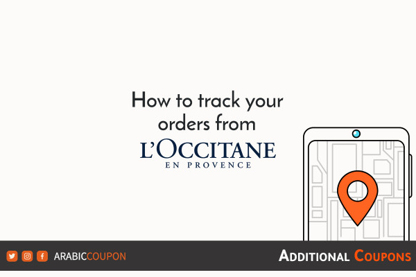 Steps to track online orders from L'Occitane with additional promo codes