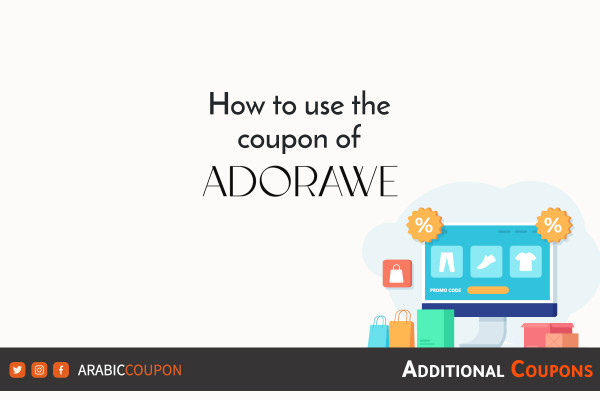 How to use the ADORAWE promo code to shop online with an additional discount coupon