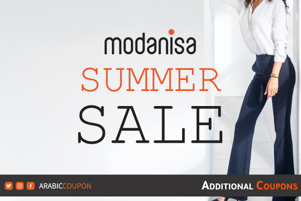 Modanisa launched summer SALE up to 70% with additional coupons & promo codes