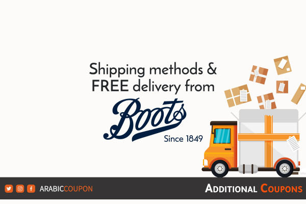 FREE delivery and same day delivery from BOOTS on online shopping with extra coupons