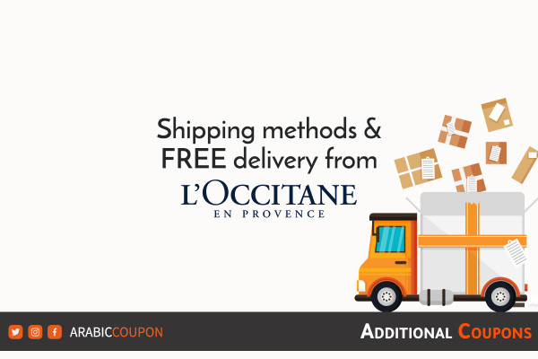 FREE delivery for online shopping from L'Occitane with additional coupons