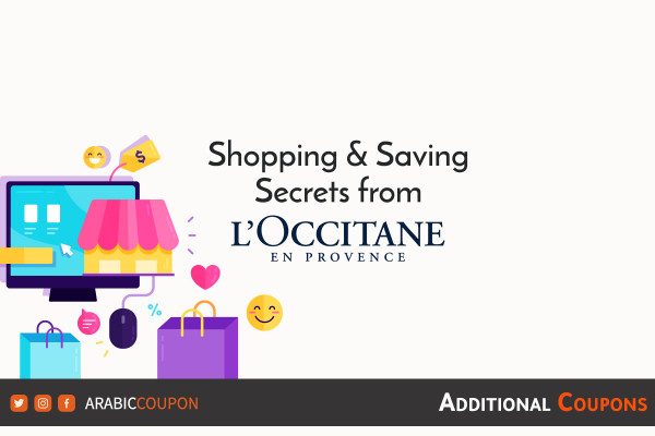 Saving secrets from L'Occitane on online shopping with additional coupons