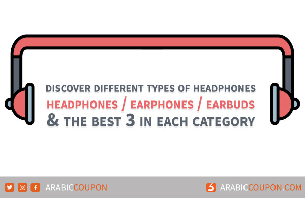 Difference, Compare & Top 3 Headphones, Earbuds & Earbuds with best deal