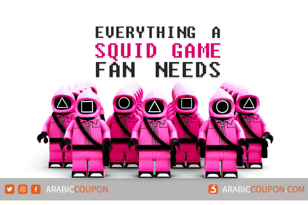 Everything a Squid Game fan needs with more than 22 new ideas
