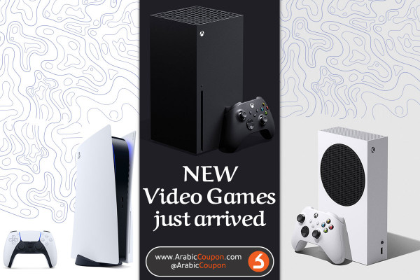NEW Video Games arrived to GCC - ArabicCoupon - Tech News