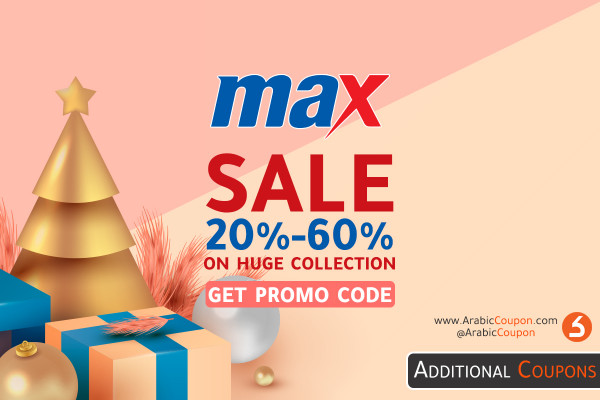Max Fashion Sale for the end of the season 2020 up to 60% on a wide range of styles with an additional coupon
